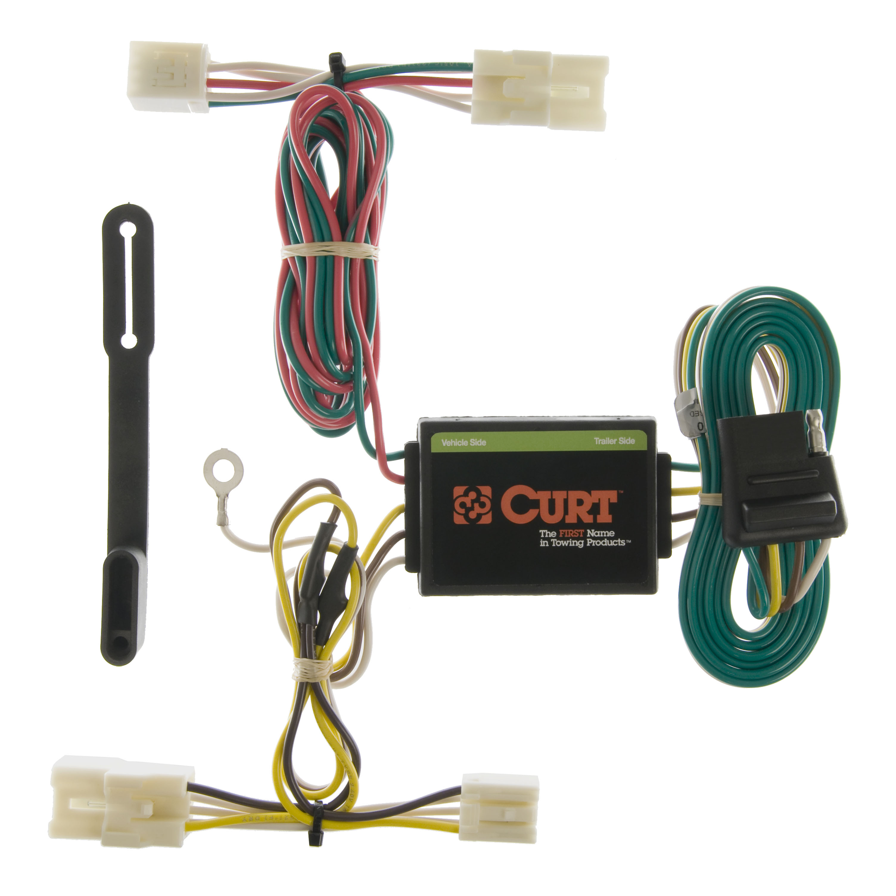 Custom Wiring Harness (4-Way Flat Output): 55310