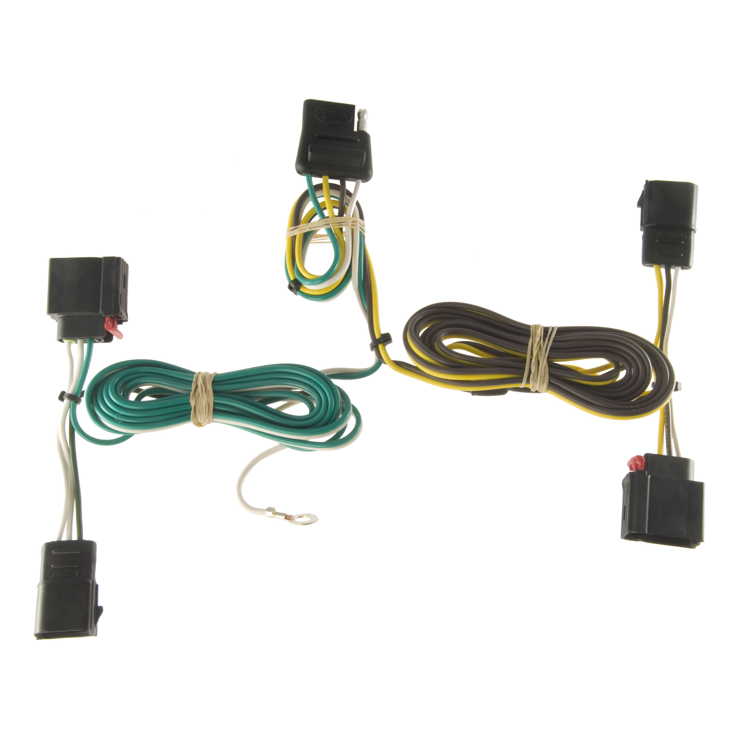 All Products For 2012 Dodge Durango 5th Wheel Wiring Harness Custom 4 Way Flat Output 56133