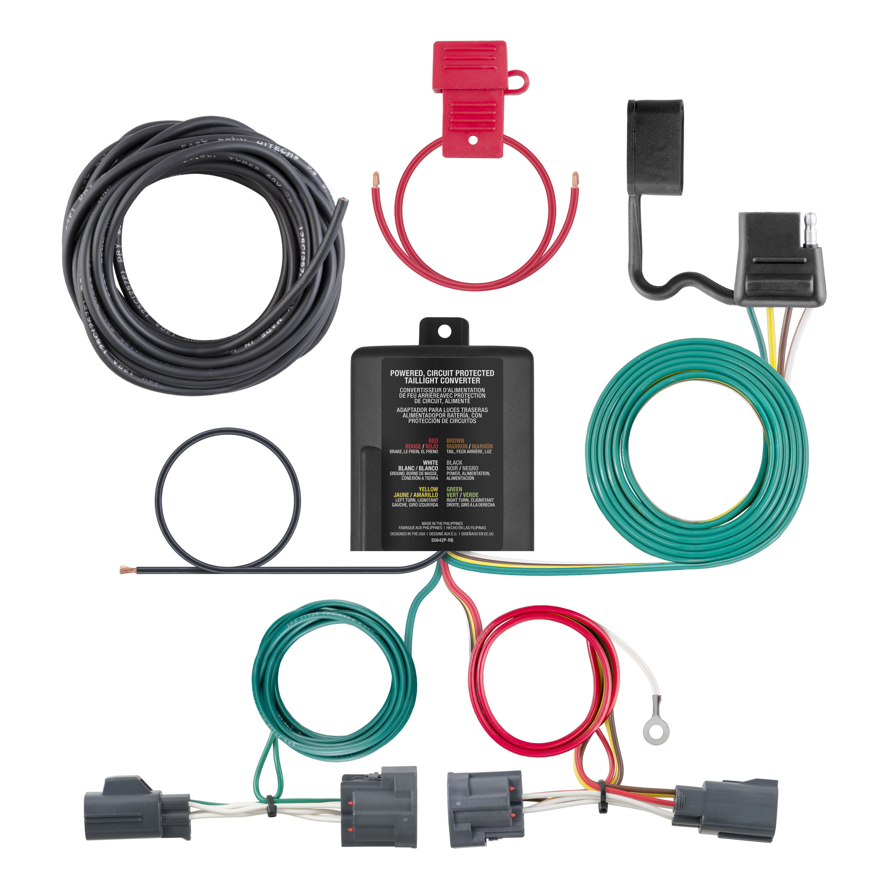 All Products For 2009 Dodge Nitro 5th Wheel Wiring Harness Custom 4 Way Flat Output 56334