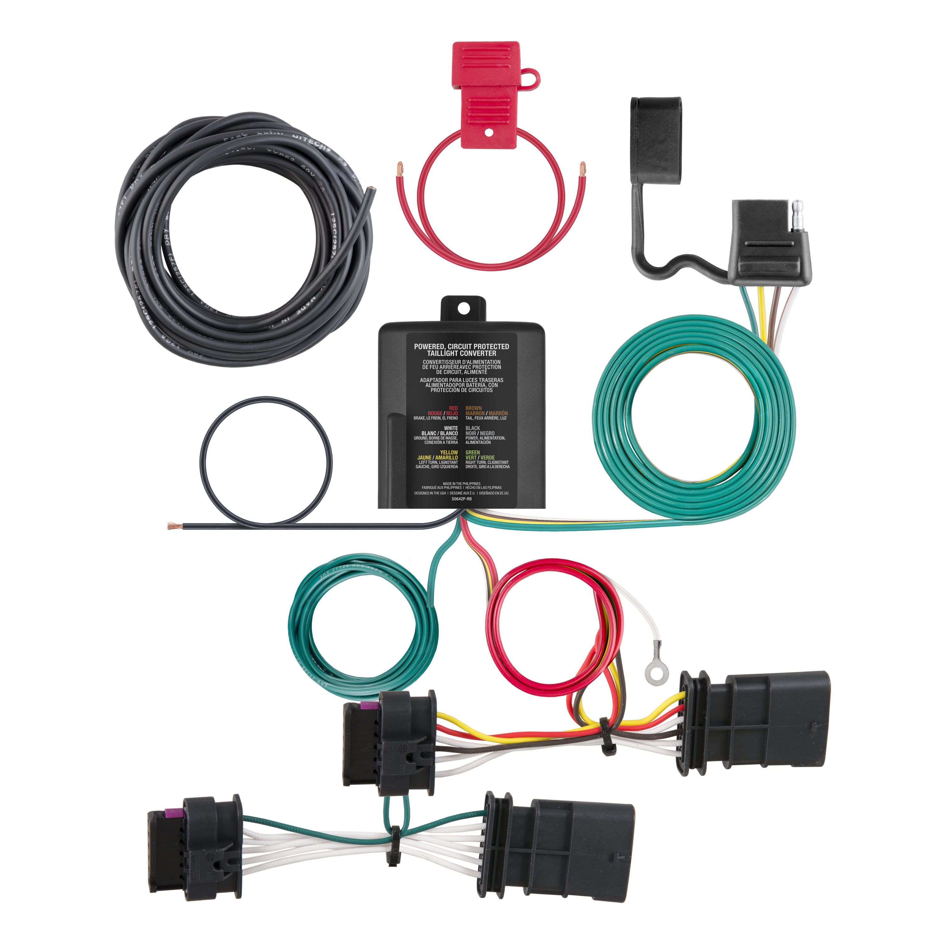 All Products For 2018 Fiat 500x Wiring Harness Custom 4 Way Flat Output 56352