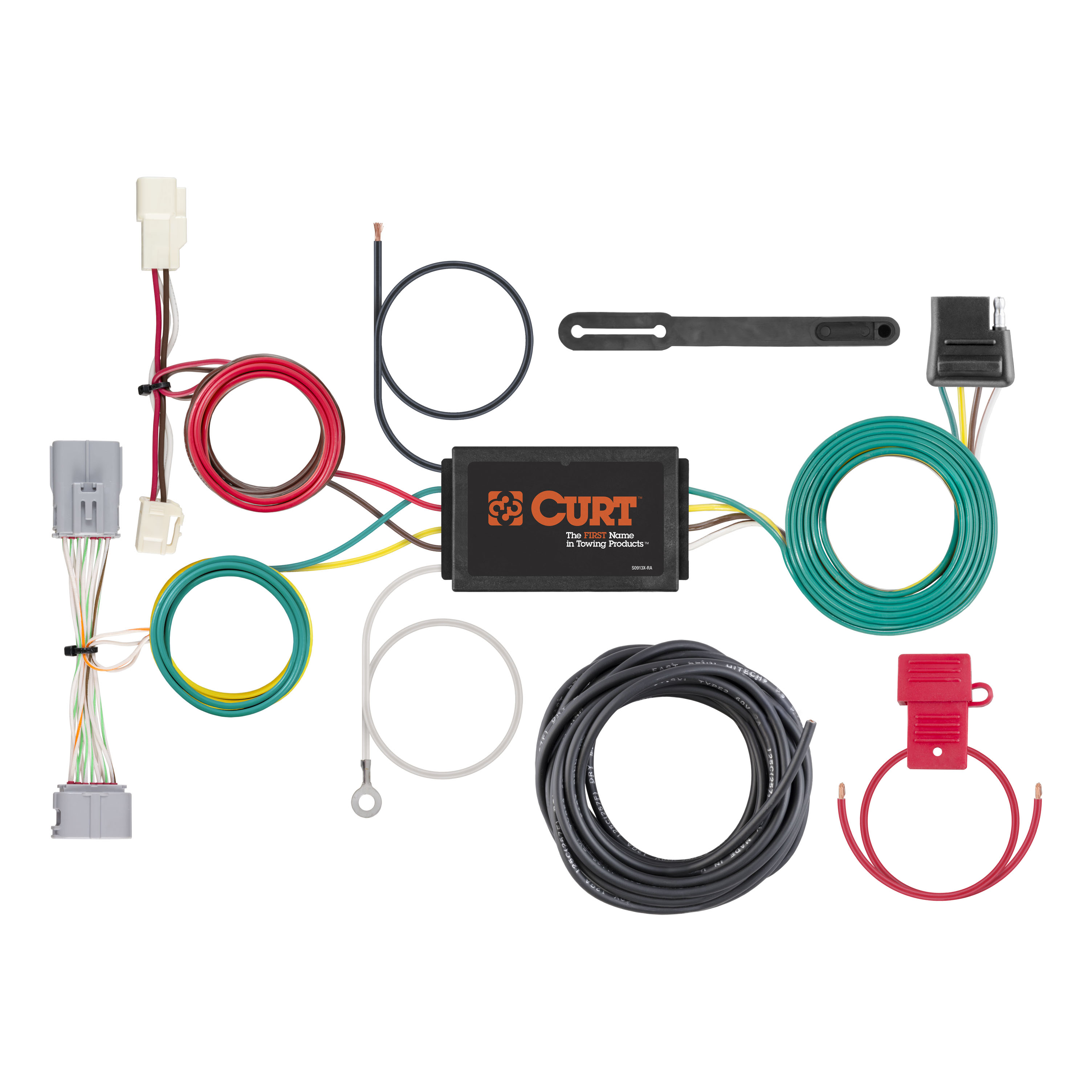 All Products For 2018 Toyota Prius Prime Tow Package Wiring Harness Custom 4 Way Flat Output 56371