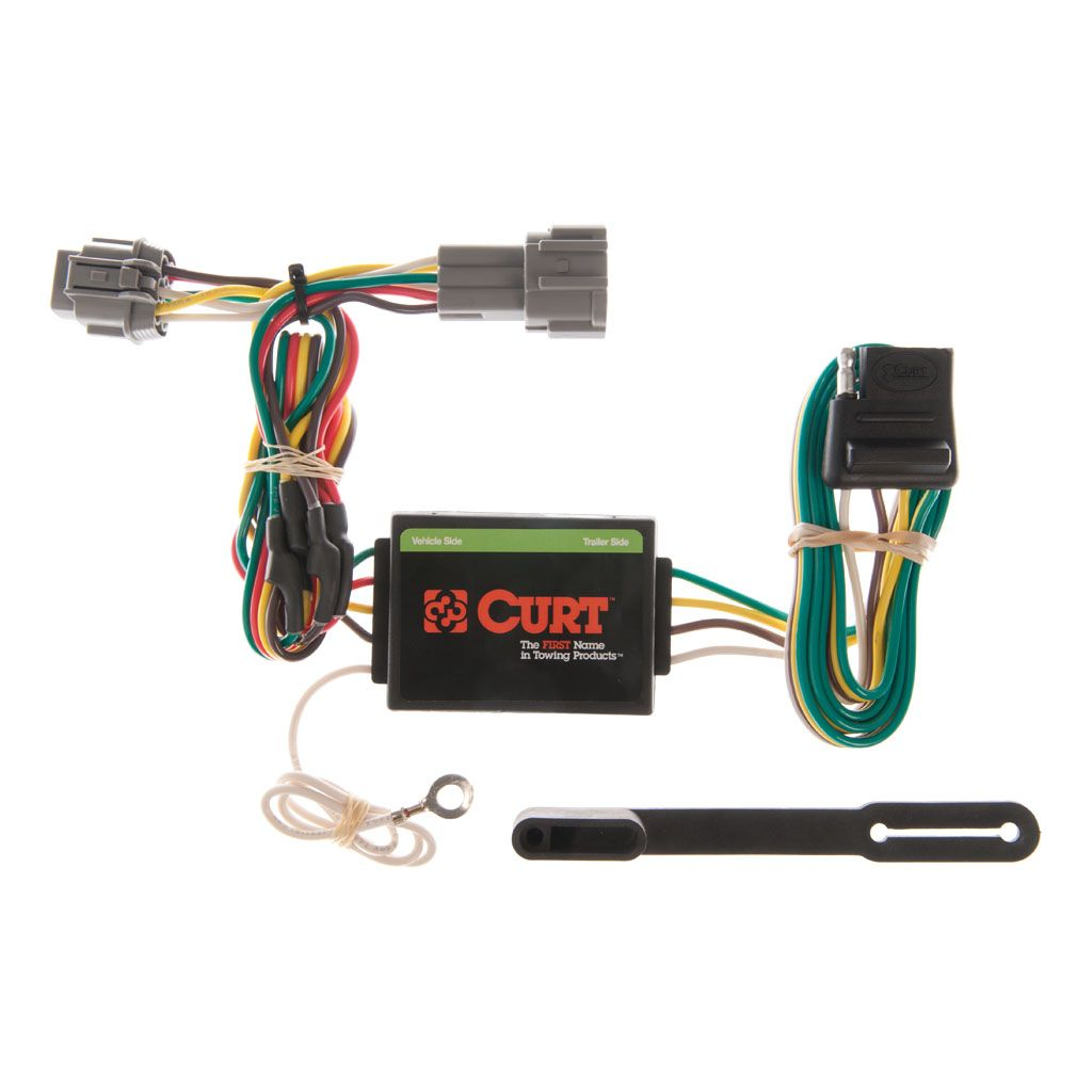 [SCHEMATICS_43NM]  Custom Wiring Harness (4-Way Flat Output) SKU #55362 for $43.81 by CURT  Manufacturing | 7 Pole Wiring Diagram Nissan Frontier |  | Curt