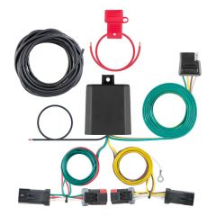 Custom Wiring Harness, 4-Way Flat Output, Select Jeep Compass