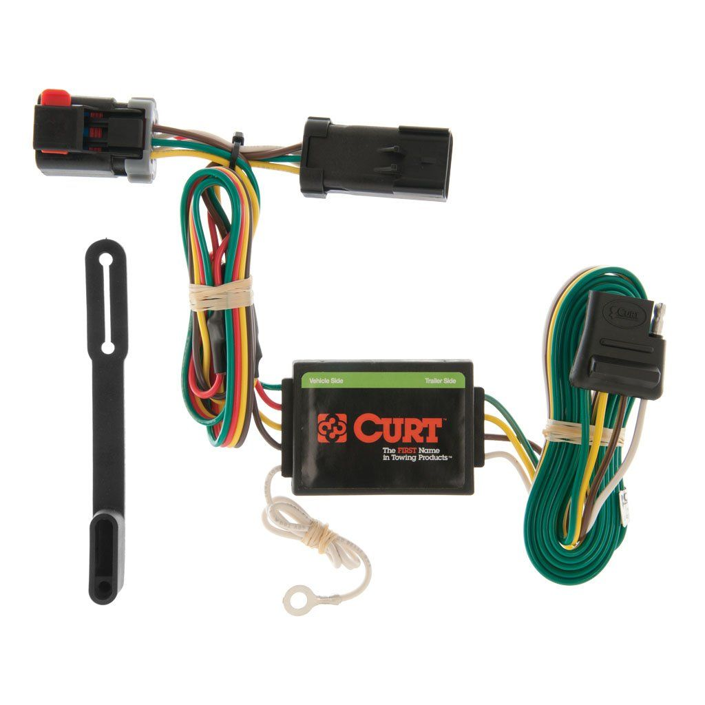 Custom Wiring Harness (4-Way Flat Output) SKU #55376 for $43.81 by CURT  ManufacturingCURT