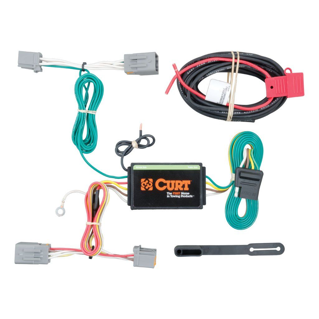Custom Wiring Harness (4-Way Flat Output) SKU #56224 for $75.77 by CURT  Manufacturing | Volvo Trailer Wiring Harness |  | Curt Manufacturing