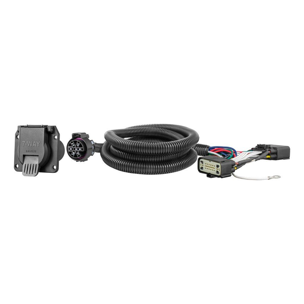 Custom Wiring Harness, 7-Way RV Blade Output, Select Ford Ranger   Ford Rv Wiring Harness      CURT