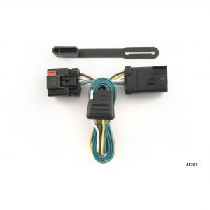 custom wiring harness (4-way flat output) sku #55381 for $33 56 by curt  manufacturing