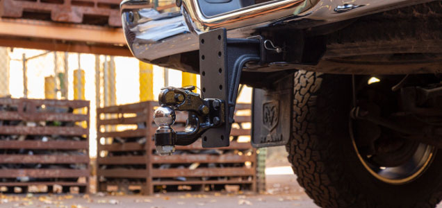 Adjustable Pintle Mount #48349