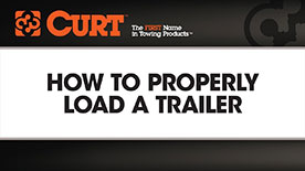 How to Properly Load a Trailer Video