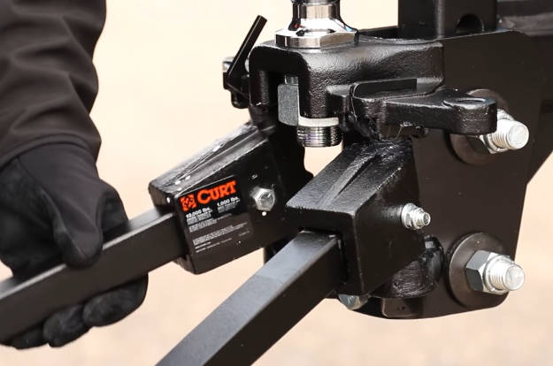 Attach Weight Distribution Hitch Spring Bars