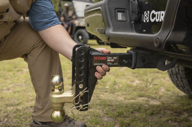 Best Adjustable Hitch - CURT Channel Mount #45900