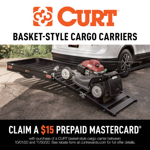 CURT Basket-Style Cargo Carriers Promotion 2020