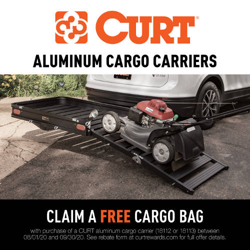 CURT Cargo Carriers Promotion 2020