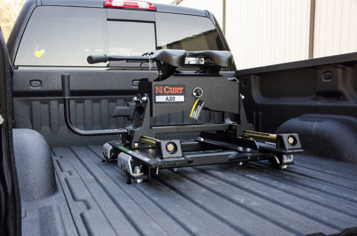 CURT A-Series Hitch with Roller - Puck System