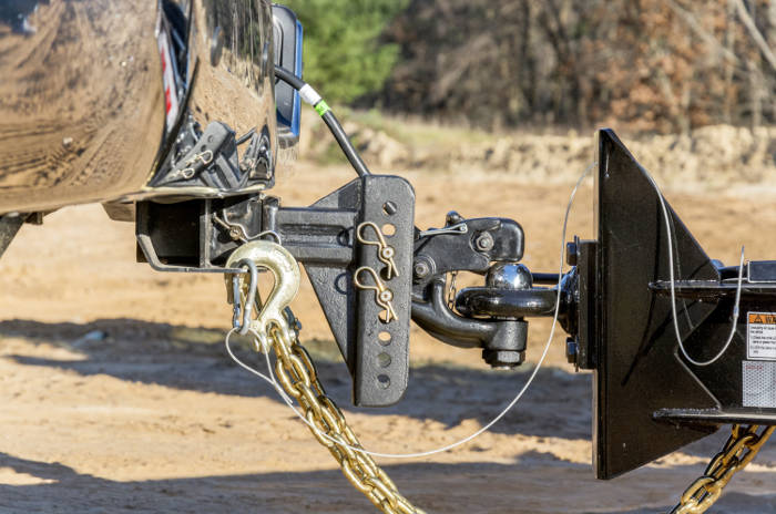 CURT Adjustable Pintle Hitch