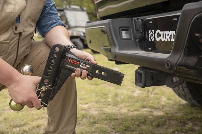 CURT Adjustable Trailer Hitch Ball Mount Installation