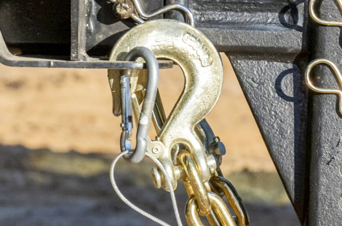CURT Clevis Hooks, Safety Chain Hooks