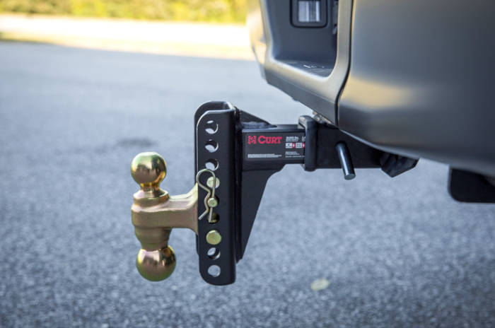 CURT Drop Hitch Adjustable Channel Mount