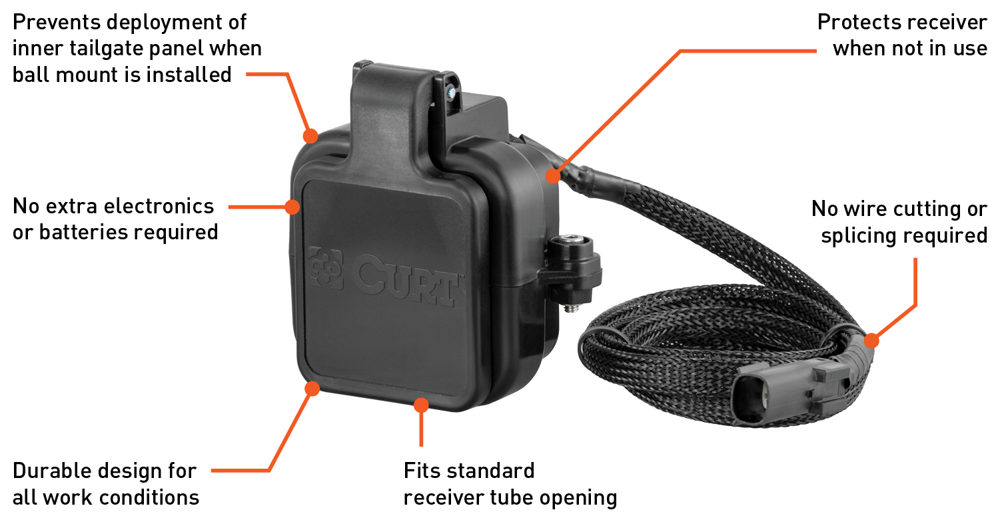 CURT GMC Tailgate Sensor Product Features