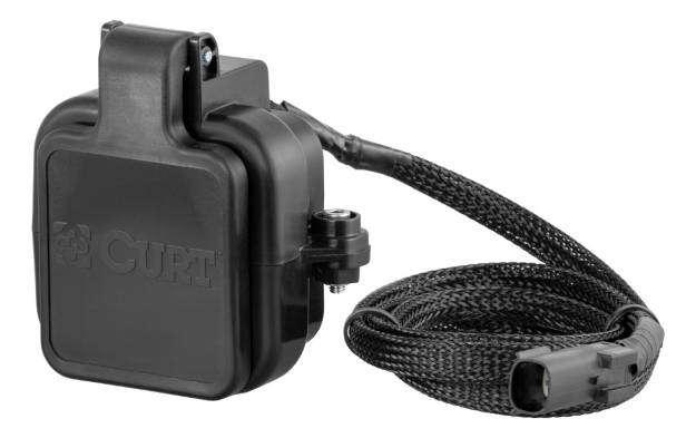CURT Multipro Tailgate Hitch Cap Fix