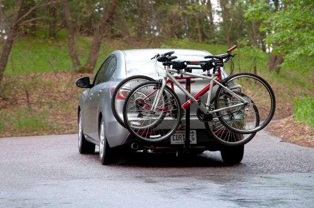 Car Hitch Mounted Bike Rack