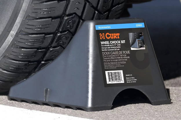 Chock Wheels for Tow Hitch Installation