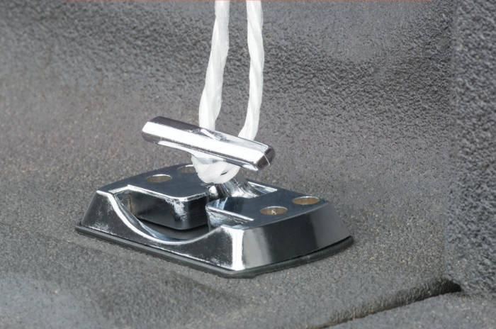 Folding Tie Down Hooks with Rope