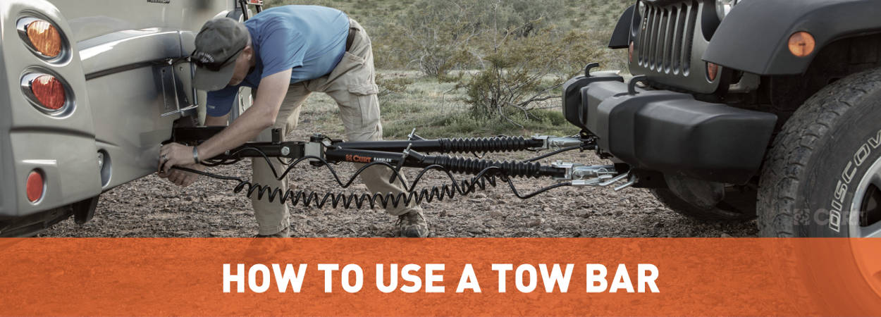 How to Use a Tow Bar - Installation Guide - CURT