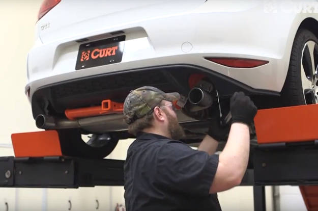 Installing a Hitch by Yourself