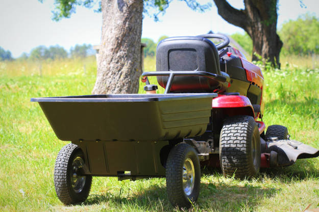 Lawnmower Towing Trailer