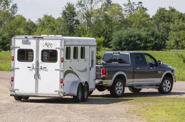 Light-Duty Towing - Pickup Truck with Horse Trailer