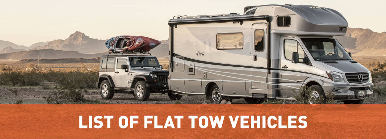 List of Flat Tow Vehicles - CURT