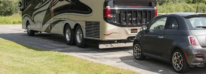 RV Hitch Towing Car Dinghy