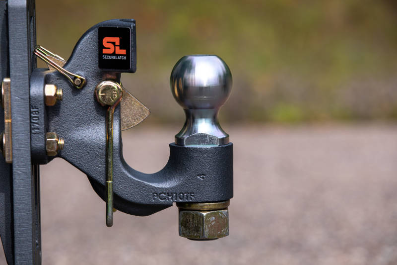SecureLatch Cupped Pintle Hook Hitch