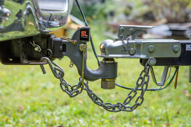 SecureLatch Safety Chain Hangers Pintle Hitch