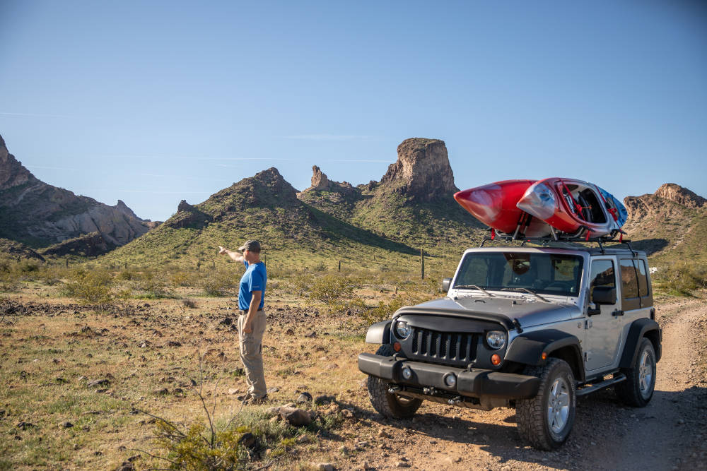 Towed Vehicle Jeep Wrangler Offroad