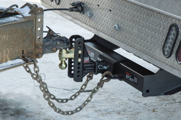 Fully Coupled Trailer Hitch Receiver