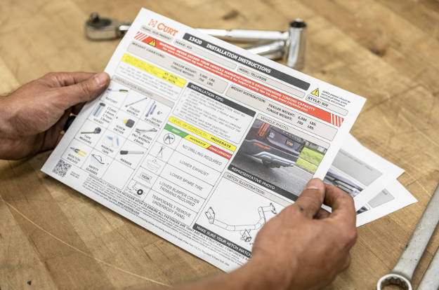 Trailer Hitch Installation Instructions