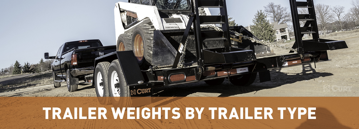 Trailer Weights by Trailer Type - Guide