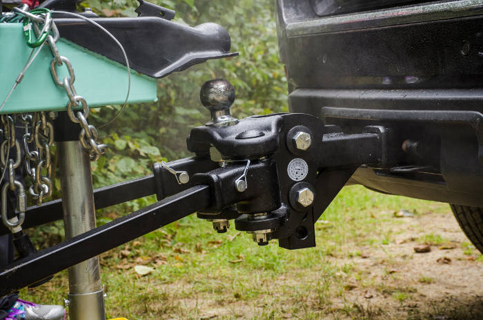 TruTrack Weight Distribution Sway Control Hitch
