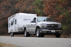 Truck Towing Travel Trailer Increase Towing Capacity