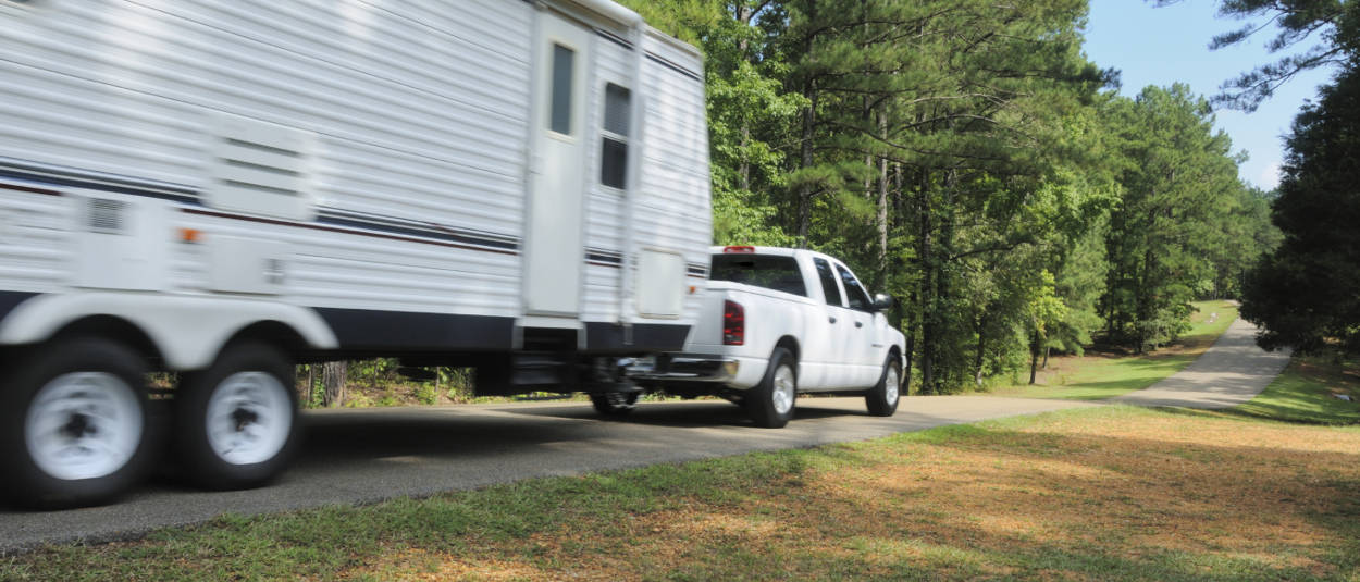 Weight Distribution RV Camper Towing