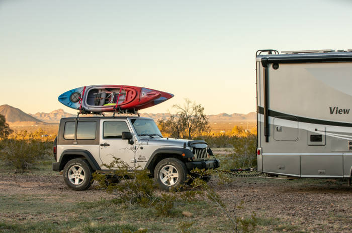 What Is Dinghy Towing - Jeep