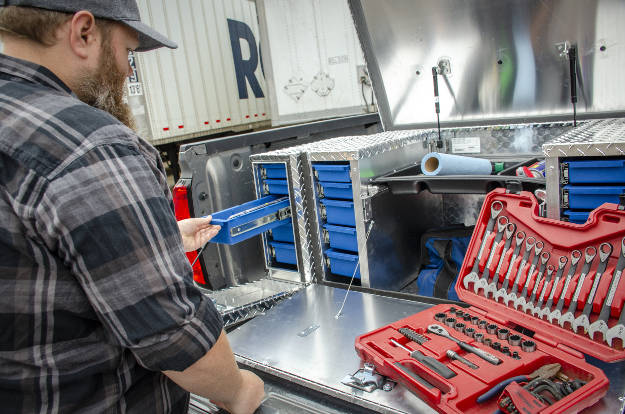 Gathing Tools for Trailer Hitch Installation