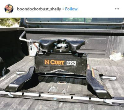 boondockorbust Q25 5th Wheel Hitch Instagram