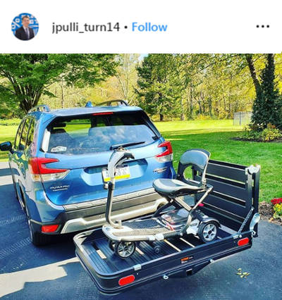 jpulli turn14 Instagram Cargo Carrier with Ramp CURT