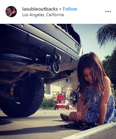 lasubieoutbacks Los Angeles CURT D Ring Instagram